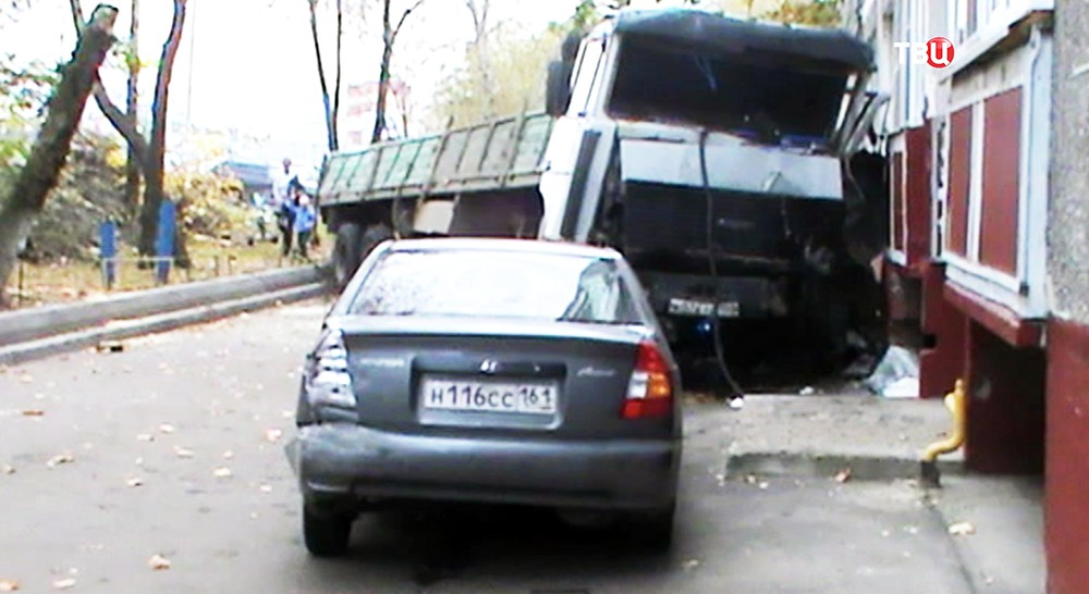 ДТП с грузовиком в Щелкове