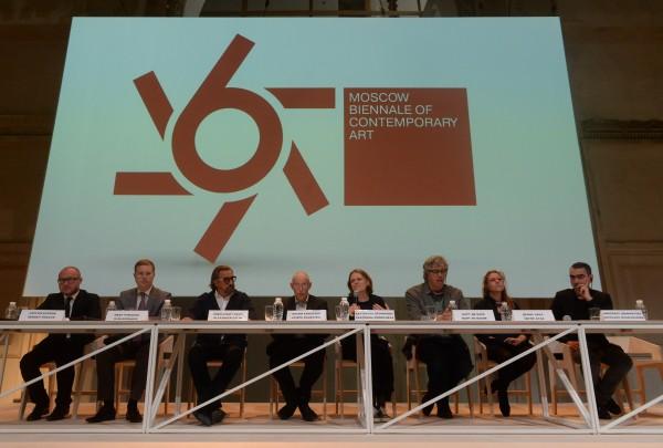 Пресс-конференция, посвященная 6-й Московской биеннале современного искусства