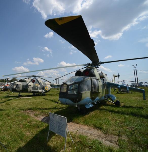 Вертолет Ми-24А