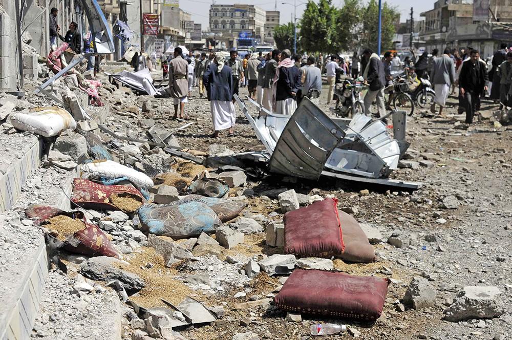 Результат боевых действий в Йемене