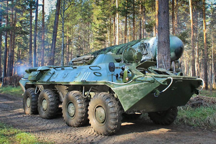 Командно-штабные учения ракетных войск особого назначения