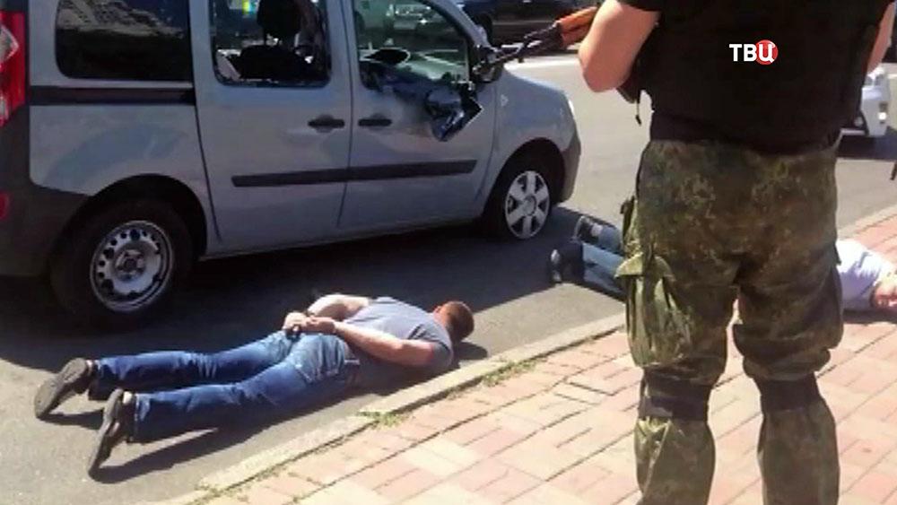 Спецаз провел задержание банды