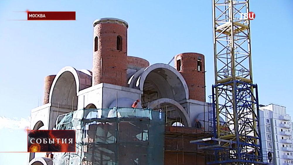 Строительство храма в честь Федора Ушакова