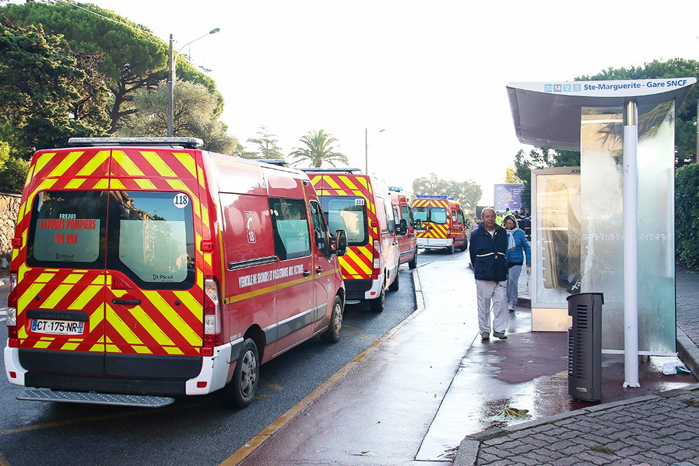 Машины скорой помощи во Франции