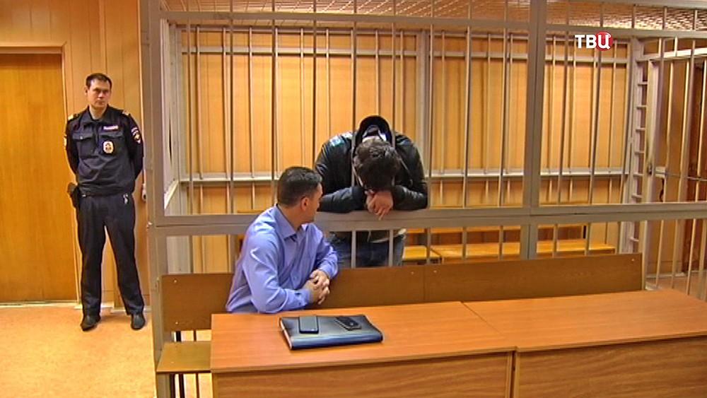 Предполагаемый виновник ДТП на Кутузовском Ираклий Данелия, в зале суда