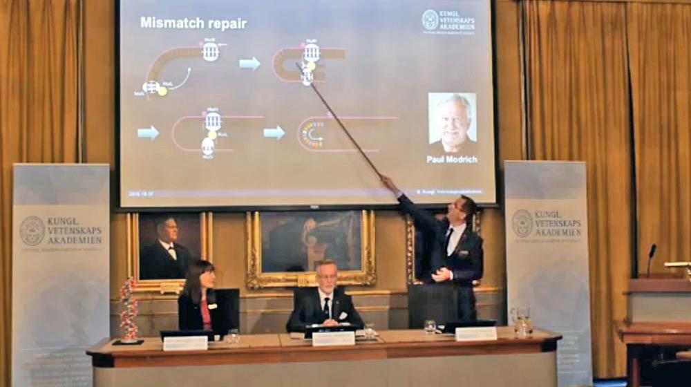Объявление лауреатов Нобелевской премии по химии