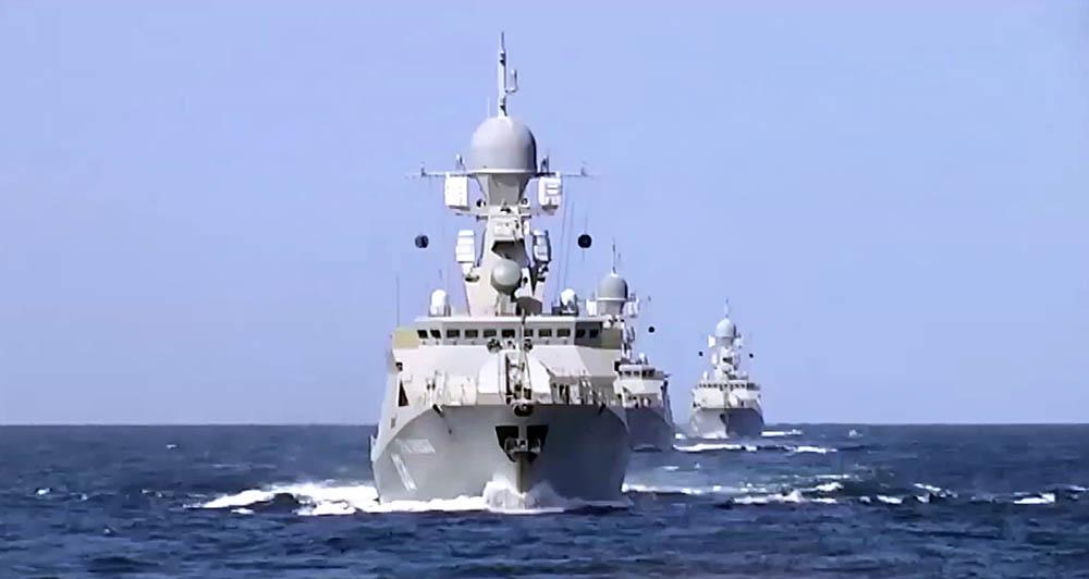 Корабли Каспийской флотилии ВМФ