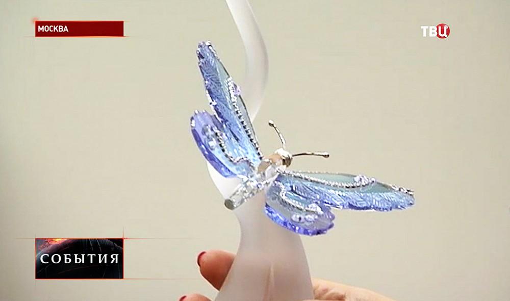 """Вручение """"Хрустальной бабочки"""" за помощь детям с ревматизмом"""