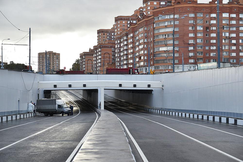 Тоннель на Большой Академической улице
