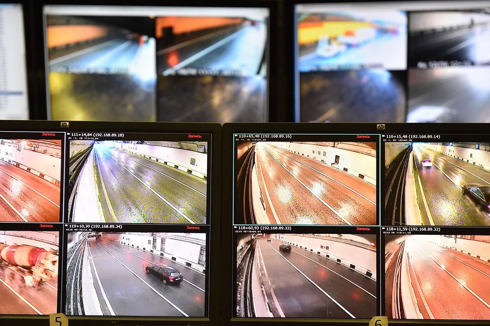 Центр видеофиксации в Алабяно-Балтийском тоннеле