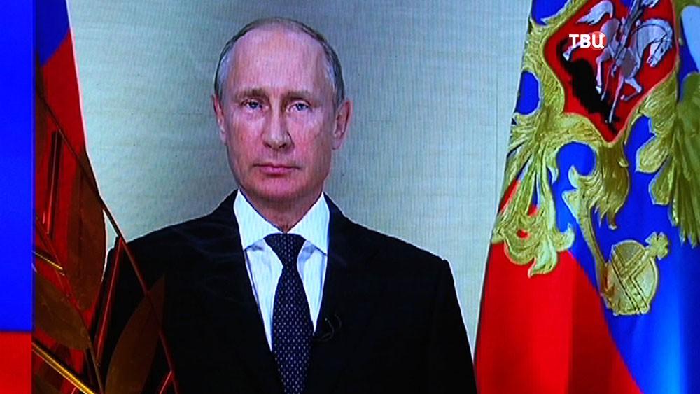 Президент Владимир Путин поздравляет работников сельского хозяйства с праздником