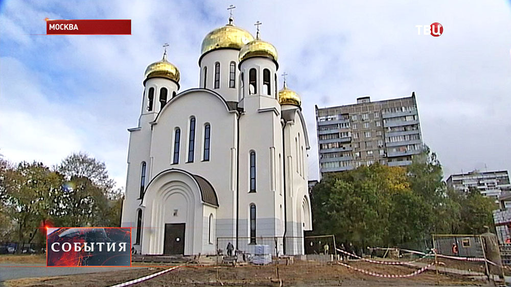 Cтроительство церкви в честь Введения во храм Пресвятой Богородицы