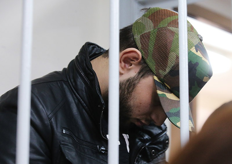 Подозреваемый в подготовке теракта в Москве Мохмад Межидов Эльман Ашаев