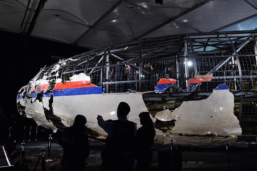 Представление доклада об обстоятельствах крушения лайнера Boeing 777 Malaysia Airlines (рейс MH17)