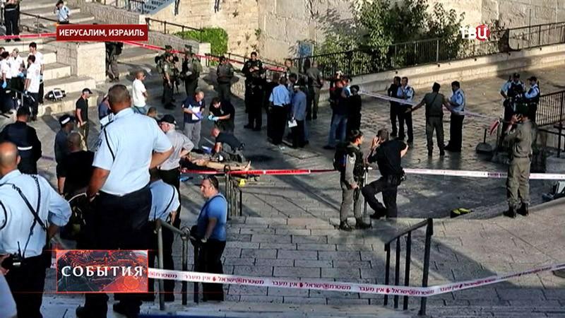 Акция протеста в Израиле