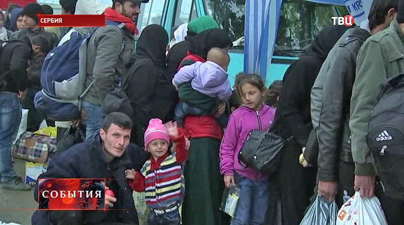 Беженцы в Сербии