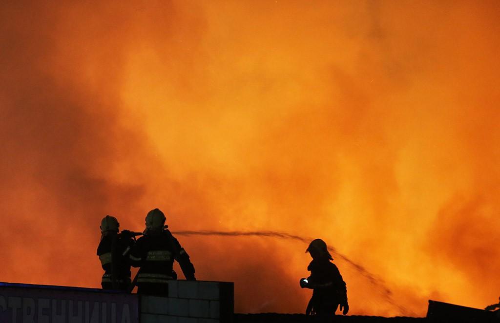 Ликвидация пожара