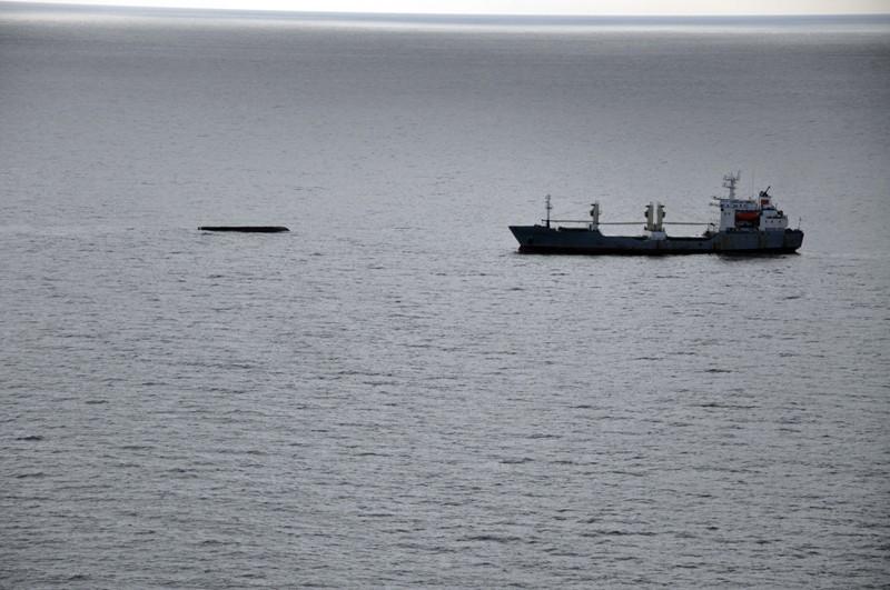 Поисково-спасательная операция на месте крушения судна