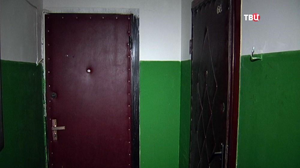 Квартира в Подольске, где произошло убийство