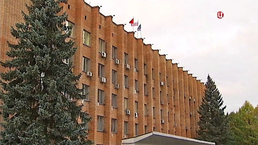 Здание Красногорской администрации