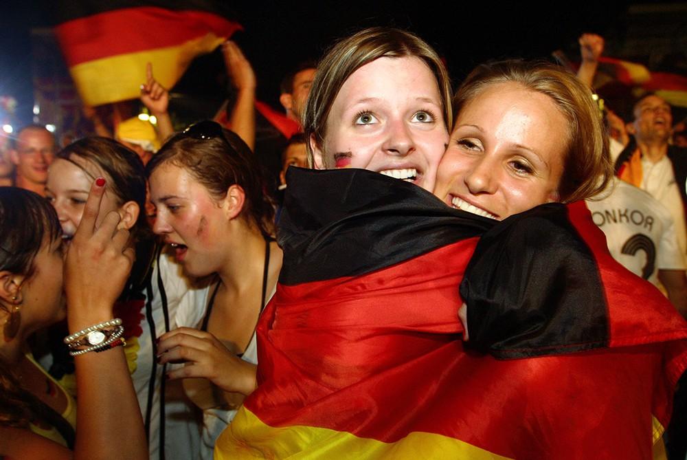 Немецкие болельщики