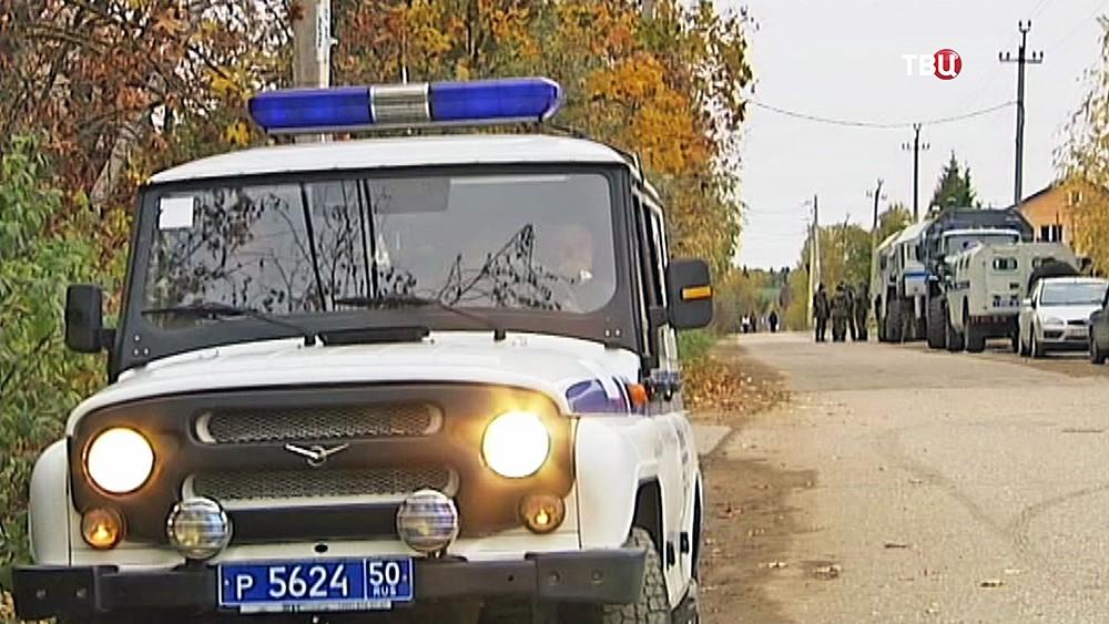 """Спецоперация полиции в Подмосковье по поиску """"красногорского стрелка"""""""