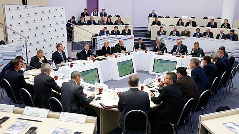 Заседание Международного попечительского совета Московской школы управления Сколково