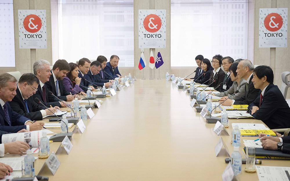 Рабочая поездка мэра Москвы Сергея Собянина в Токио