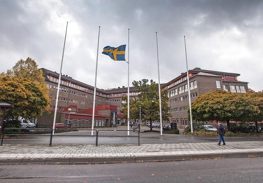 Траур в Швеции