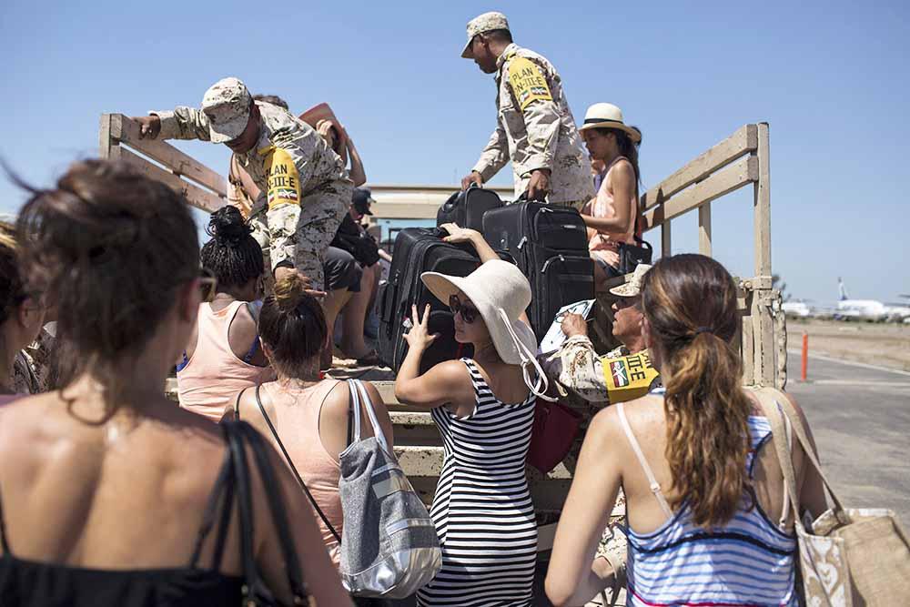 Эвакуация в Мексике