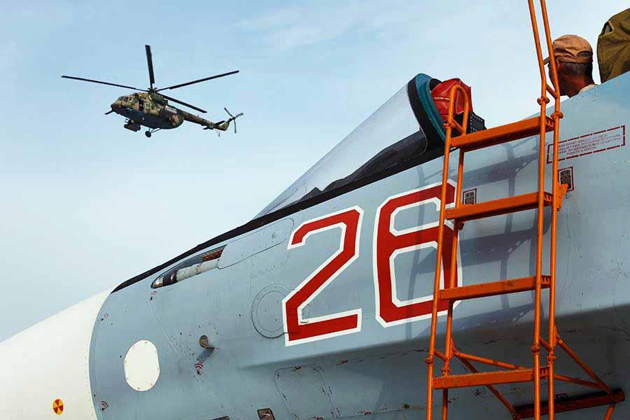 Авиагруппировка ВКС России в Сирии