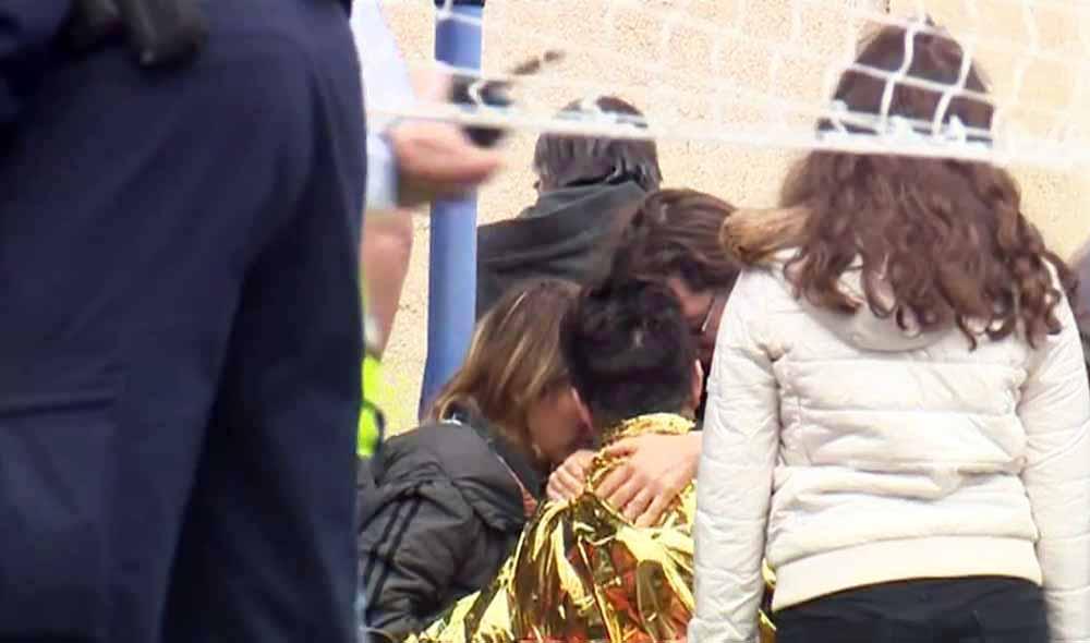 Родственники погибших в ДТП во Франции