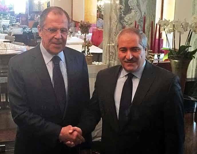 Глава МИД России Сергей Лавров и министр иностранных дел Иордании Насер Джода
