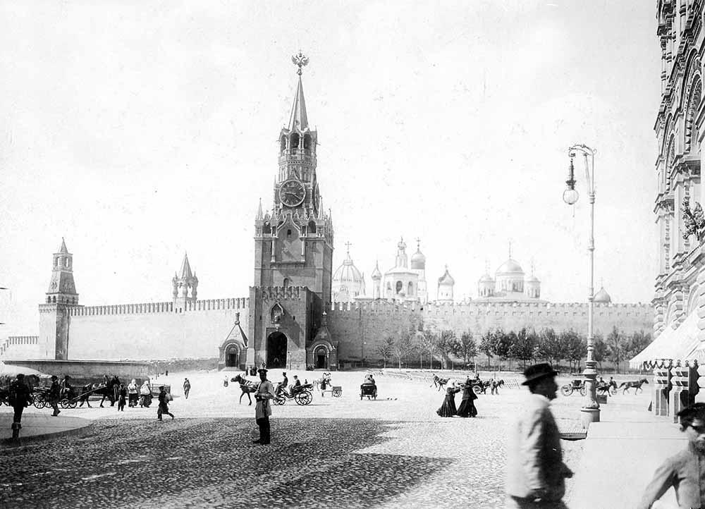 Красная площадь 1900 год