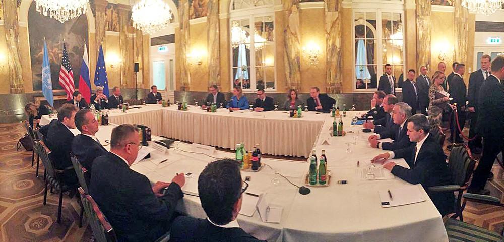 Четырёхстороняя встреча глав МИД во Сирийскому кризису в Вене