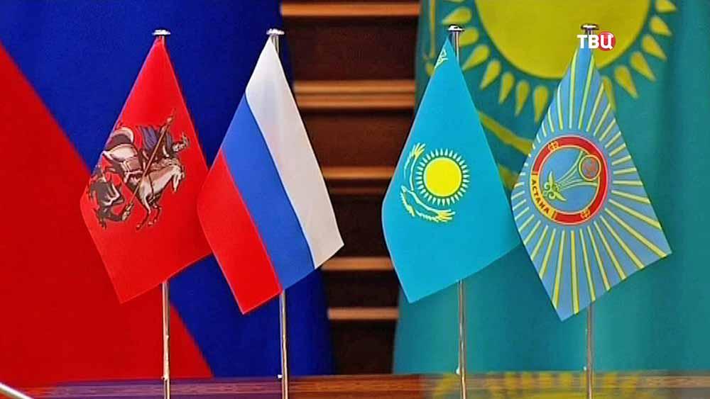 Встреча мэров Москвы и Астаны