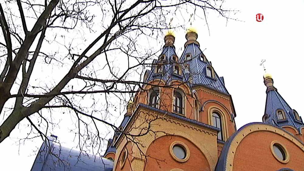 Храм Державной иконы Божией Матери в Чертаново
