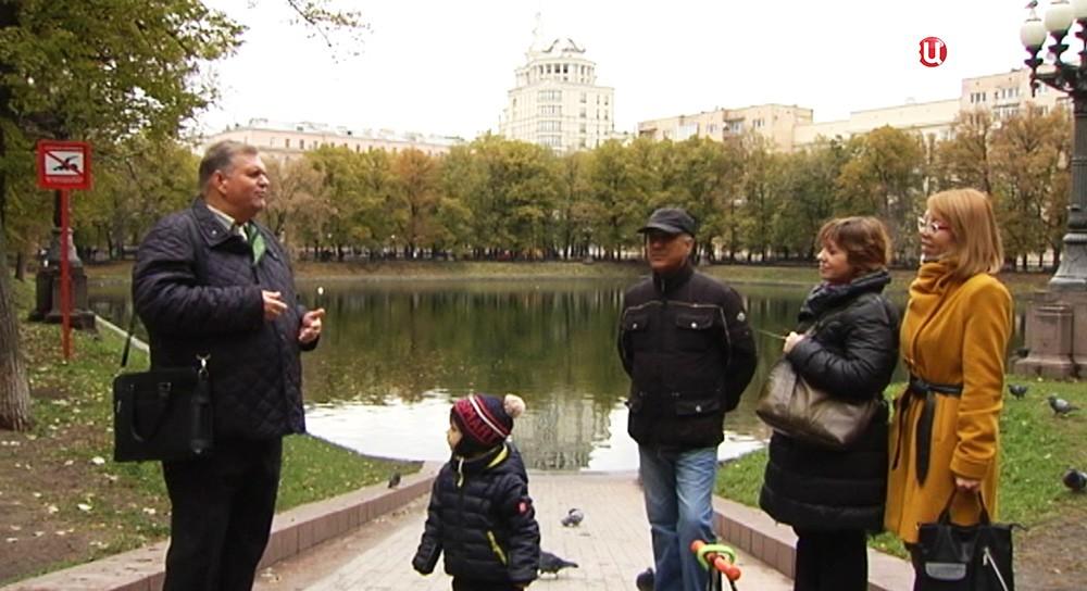 Экскурсовод Феликс Мальцев