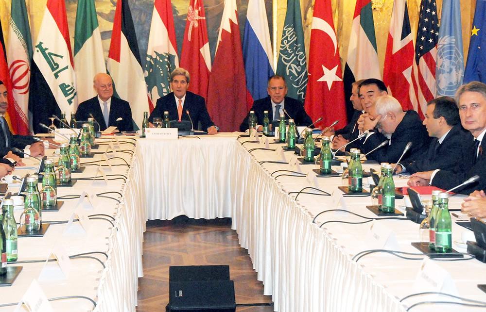 Переговоры глав МИД в Вене