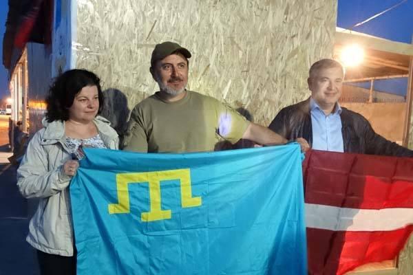 Организатор блокады Крыма Ленур Ислямов