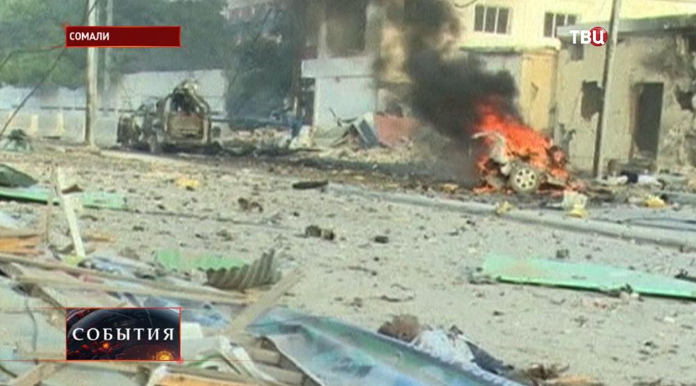 Нападение на отель в Сомали