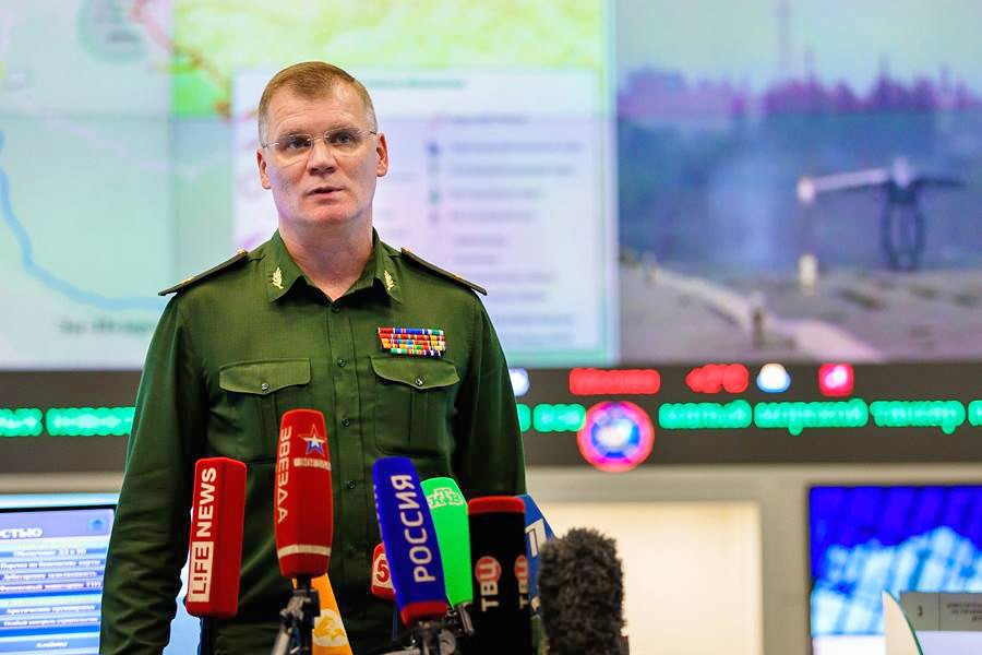 Официальный представитель Минобороны Игорь Конашенков