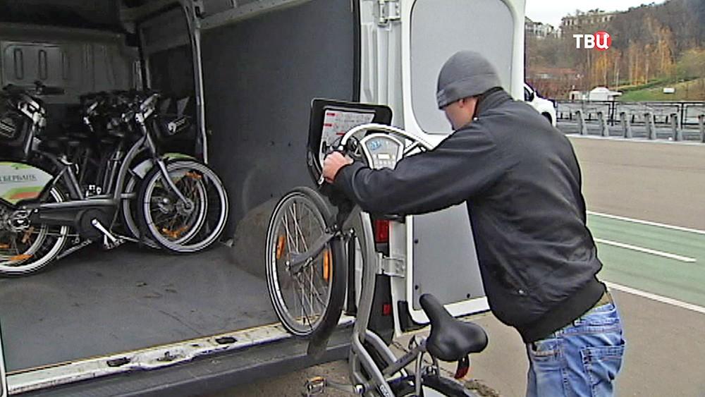 Велопрокат в Москве