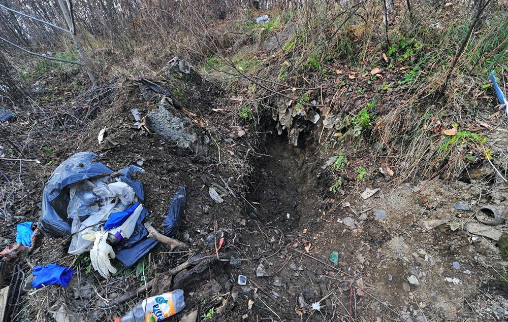 Место убийства школьницы Иры Шевцовой
