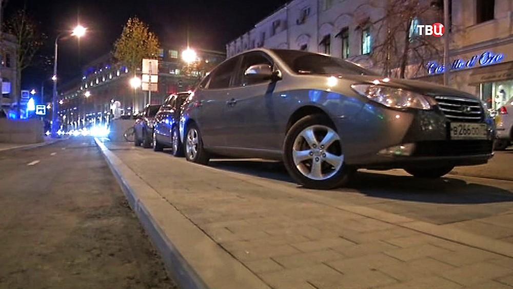 Парковка на Неглинной улице
