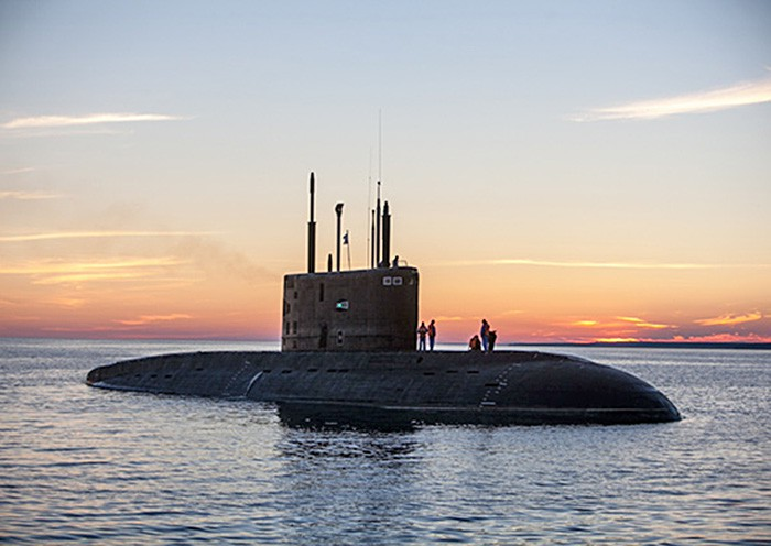 """""""Buraco negro"""": O submarino russo da nova geração"""