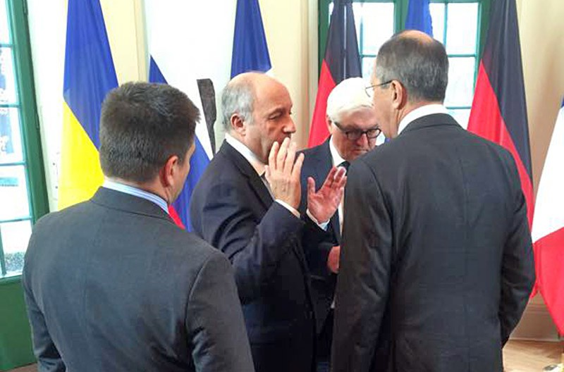 """Встреча министров иностранных дел стран """"нормандской четверки"""""""