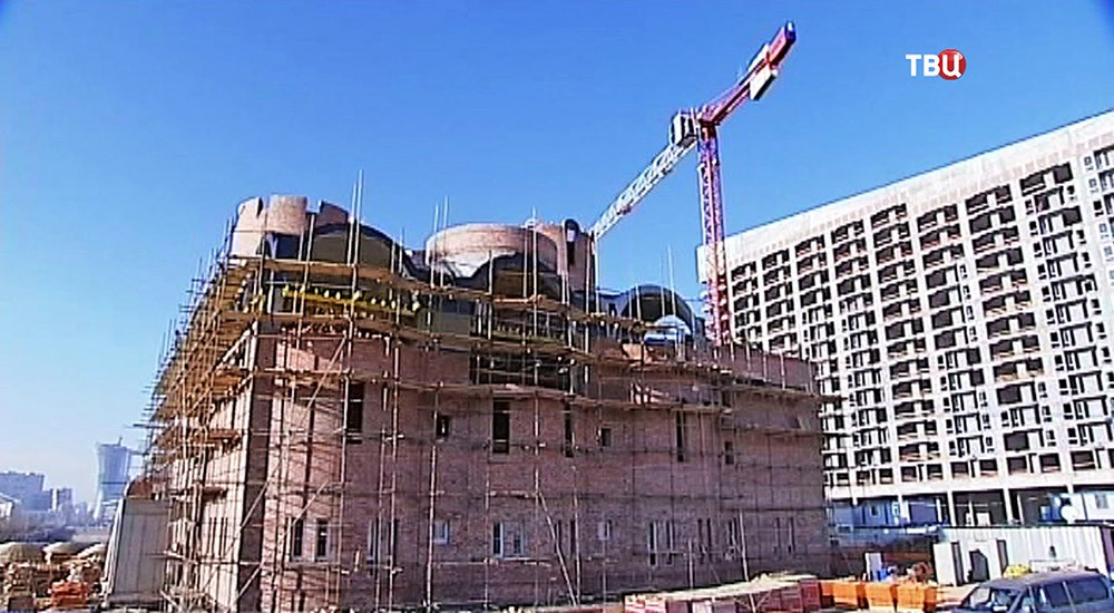 Строительство храма в честь преподобного Сергия Радонежского