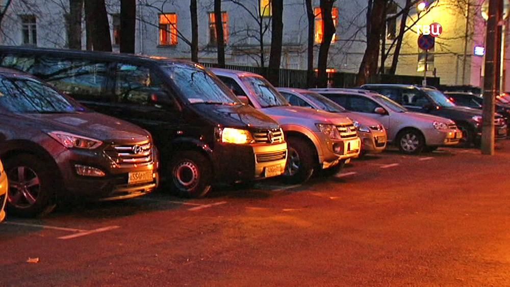 Ночная парковка