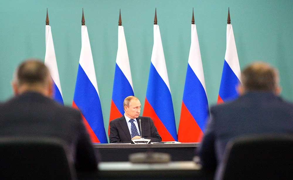 Президент России Владимир Путин провёл совещание